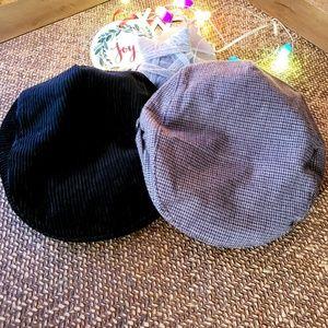 EUC Janie and Jack Paperboy Hat Bundle 12-24 M